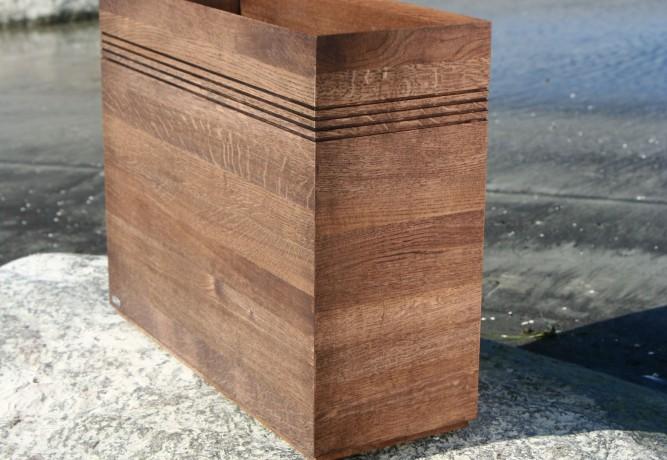 Oak woodplanter Flooring Trunk Wenge