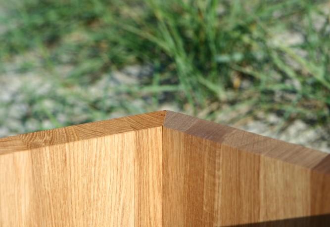 Oak woodplanter Flooring Tall Natur