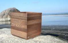 Blomlådor I trä Flooring  Cube Wenge