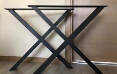 Металлические ножки для стола X-дизайн 800mm