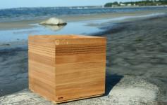 Blomlådor I trä Flooring Cube Natur